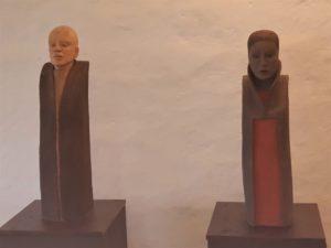 zwei Skulpturen - Inge Therese Dietrich